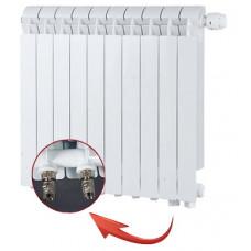 Секционный алюминиевый радиатор Global VOX 500 \ 04 cекции \ нижнее подключение